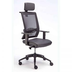 Equinox Executive Air High Back with Headrest