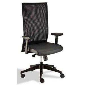Stellar Mesh High Back Chair with Star Adjustable Arms