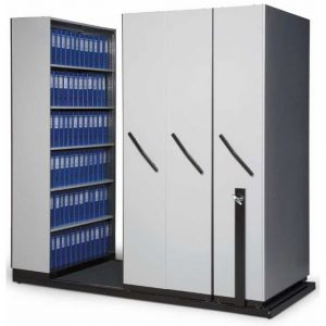 Walk In Filing Unit-Lever Arch And Plastic Containers