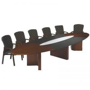 Atlanta V-leg Boardroom Table
