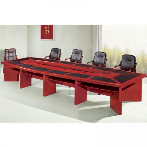 Boardroom Table with Inlay - 4800mm