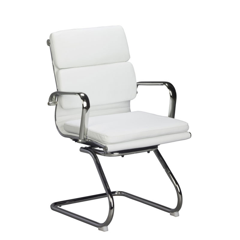 Classic Eames Visitors Chair – Cushion – White