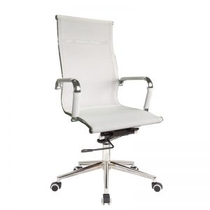 Classic Eames High Back - Netting - White