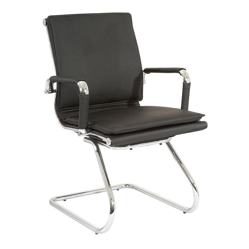 Classic Eames Visitors –  Flat Cushion Flat – Black