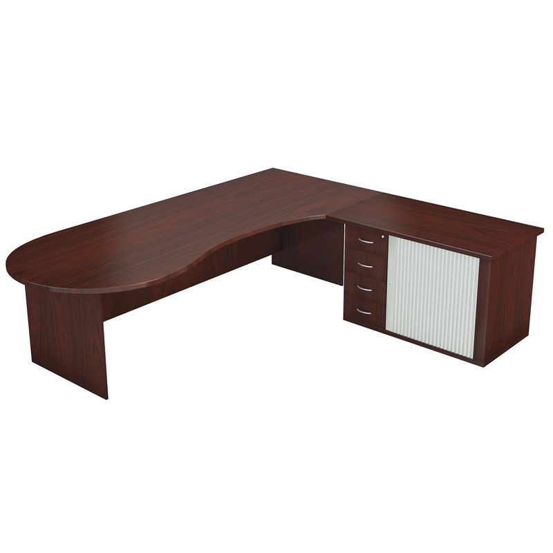 Deacon Round Edge Desk 1