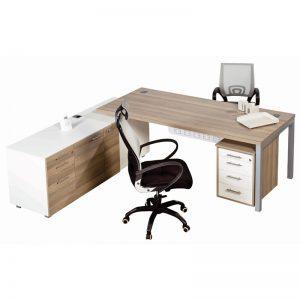 Euro L-Combination Desk
