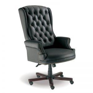 Judges High Back Chair