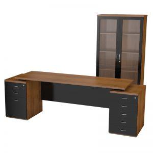 Nevada Double Pedestal Desk