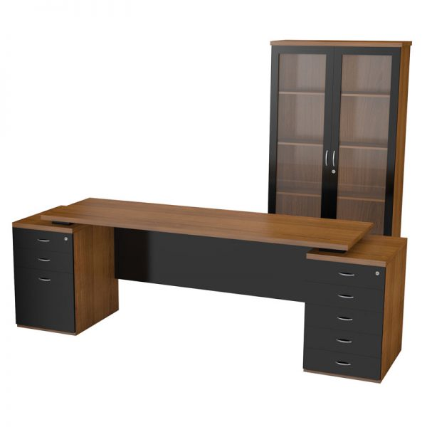Nevada Double Pedestal Desk