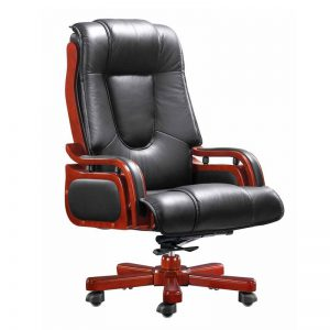 Prince High Back Chair - Leather