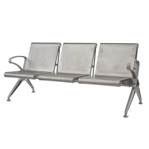 Silverline - Cast Aluminium - 3 Seater