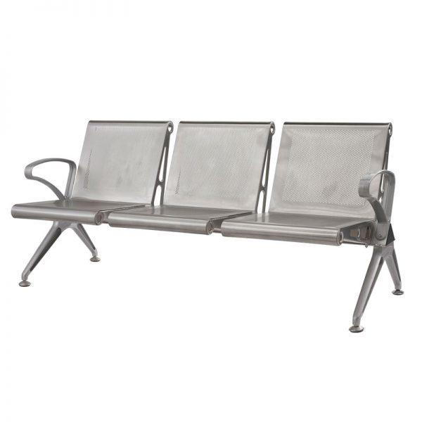 Silverline Cast Aluminium Bench
