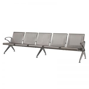 Silverline - Cast Aluminium - 5 Seater
