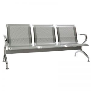 Silverline Heavy Duty Standard Steel - 3 Seater