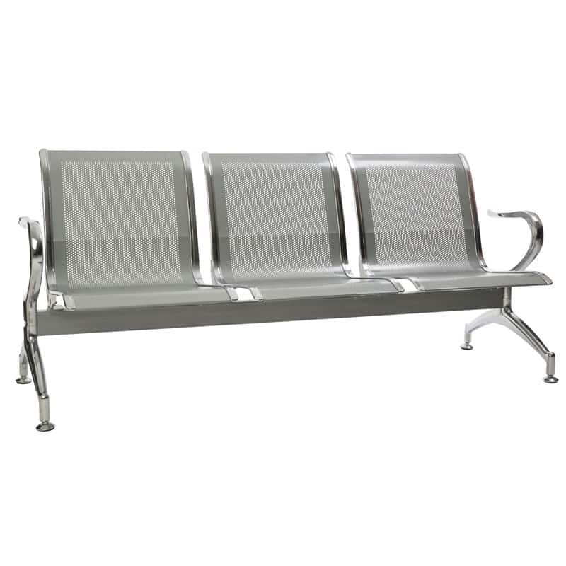 Silverline Heavy Duty Standard Steel – 3 Seater