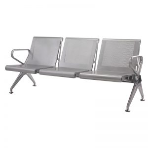 Silverline - New Chrome Deluxe - 3 Seater