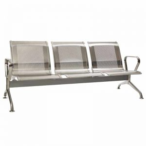 Silverline – Stainless Steel – 3 Seater