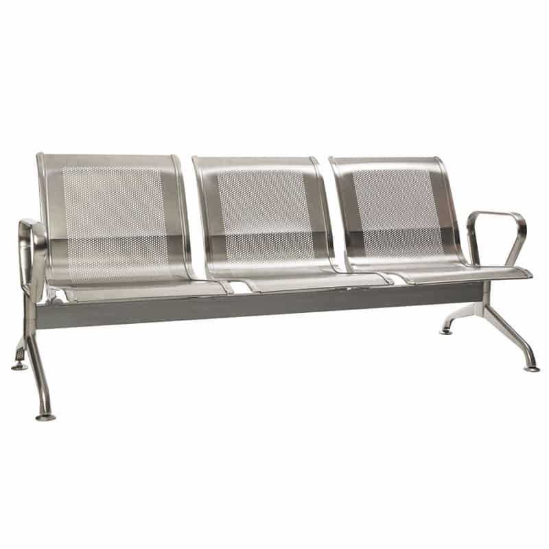 Silverline Stainless Steel – 3 Seater