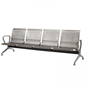 Silverline - Stainless Steel - 4 Seater