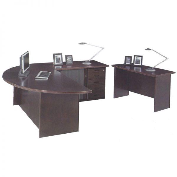 Spaceline Half Round Desk