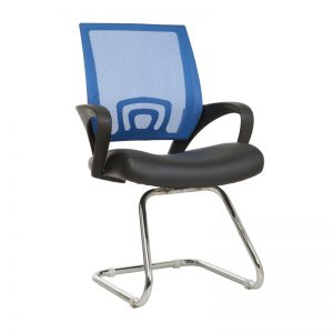 Zira Visitors Arm Chair - Blue