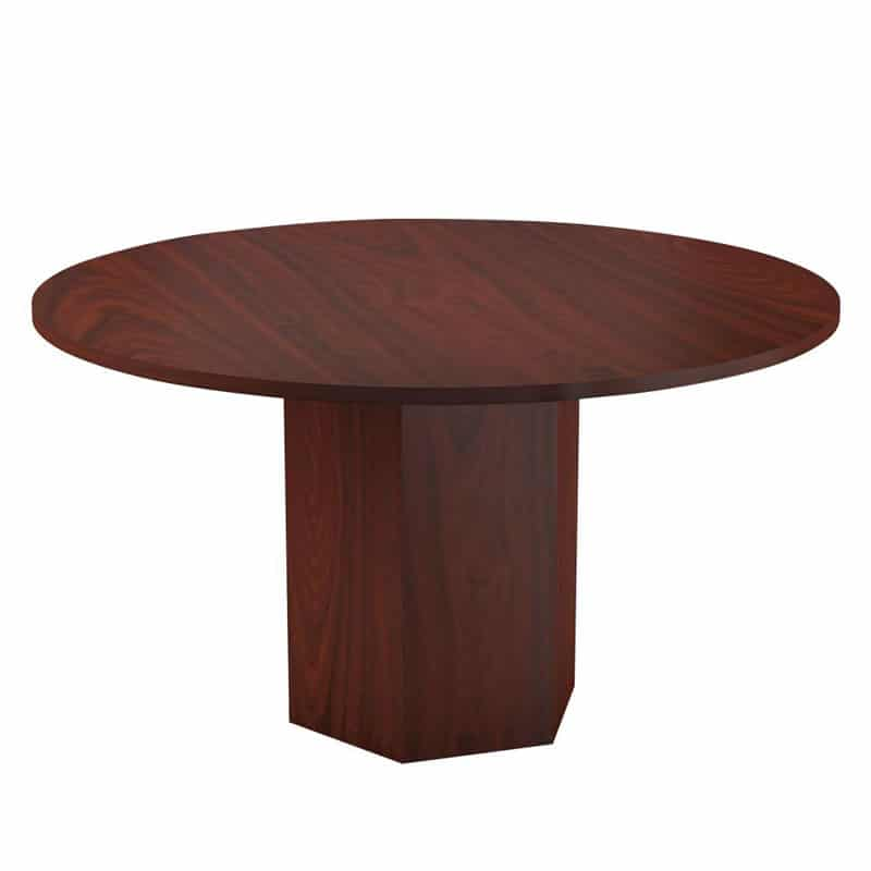 Conference Table with Barrel Legs 1