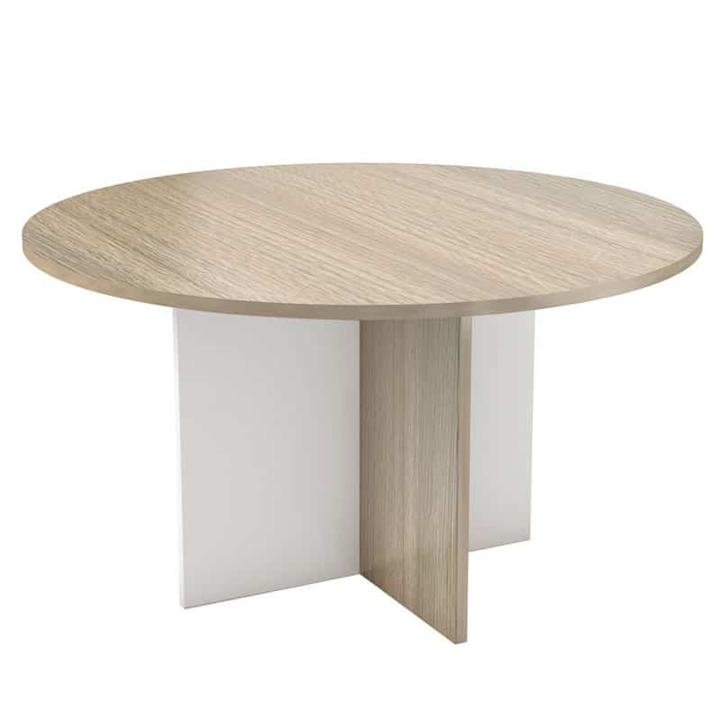 Conference Table with Cross Base Legs 1