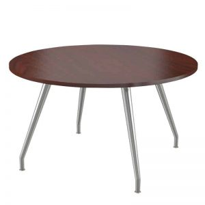 Conference Table with Steel Curved Legs