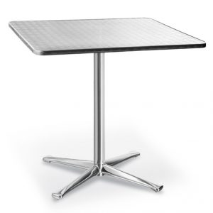 Cromo Stainless Steel Table