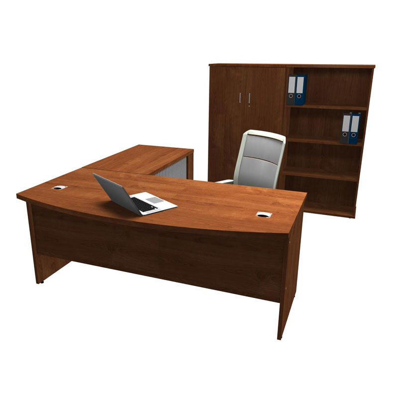 Discover Bow Front Desk 1