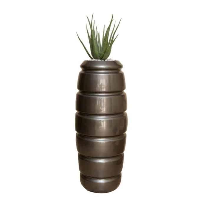 Fat Aloe in Tall Venus Urn 1