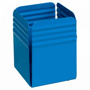 Fluted Pencil Cup Holder - Blue