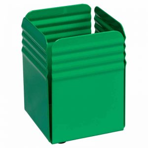 Fluted Pencil Cup Holder - Green