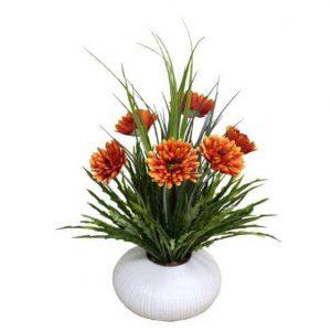 Gerbera in Urchin Vase