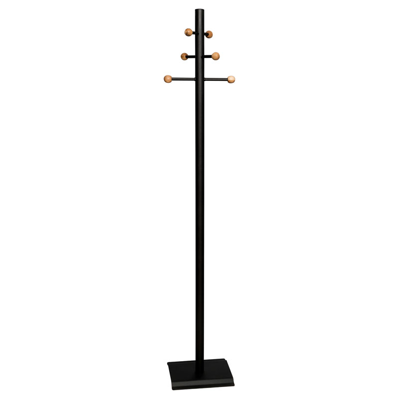 Coat and Hat Stand – Balls – Black 1