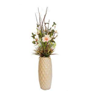 Knee High Yulan in Diamond Vase