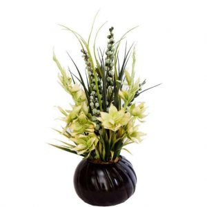 Magnolia Assortment in Twist Vase