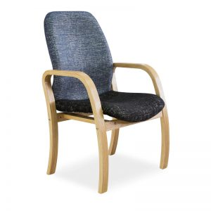 Morant Wood 4 Legged Visitors Chair