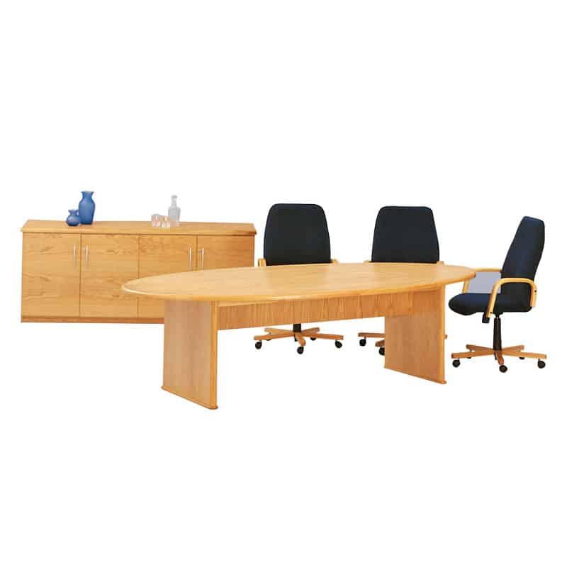 Oval Boardroom Table 1