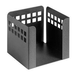 Square Punch Paper Cube - Black