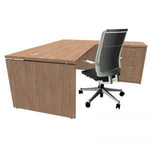 Platinum Executive L- Shaped Desk