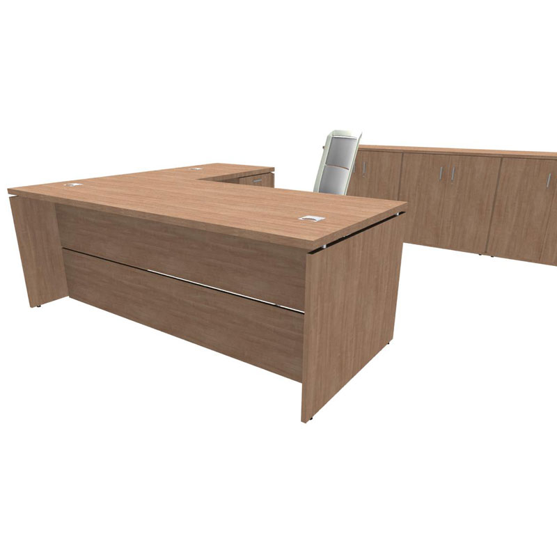 Platinum Executive Desk 1