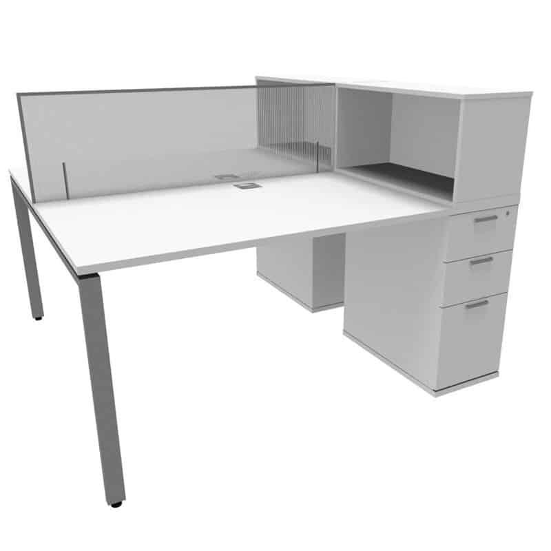 Revolution Slimline Dual Desk 1