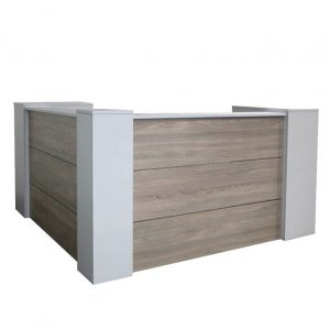 Salon L-Shaped Reception Unit