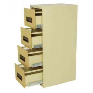 Steel Four Drawer Filing Cabinet OF 40