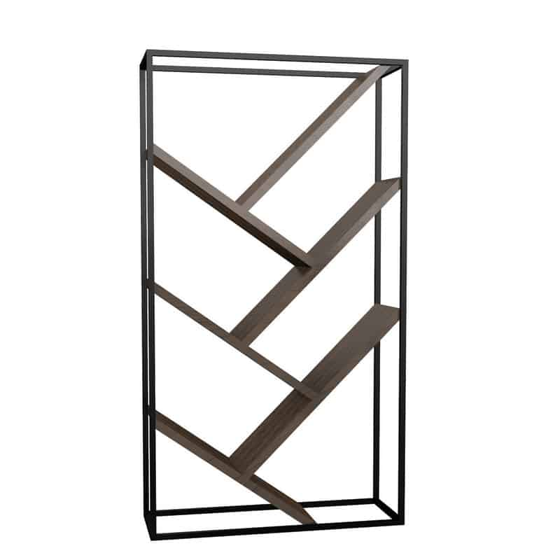Steel Framed Bookcase 1