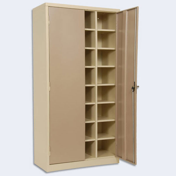 Steel Multi Compartment Cupboard 1