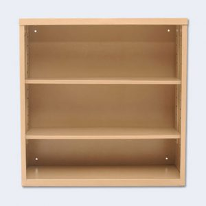 Steel Two Tier Book Case