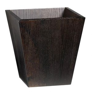 Wooden Dustbin