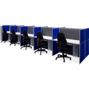 Floor Standing Screens – Aluminium